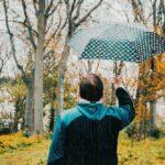 Man rain